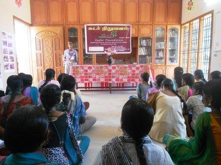 WEP's Madurai centre's 'Rights and Responsibilities' workshop.